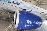 Новый двигатель самолета Airbus A350