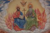 Роспись конхи алтаря Иоанно-Предтеченского храма г.Ижевск 2011