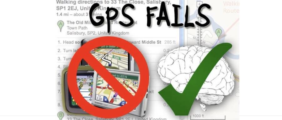 GPS fails
