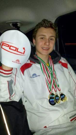 Tre medaglie d'oro e una d'argento per Johannes Calloni