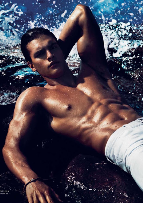 [detail] Mathew Terry by Mert & Marcus for Calvin Klein Jeans, S/S 2012.