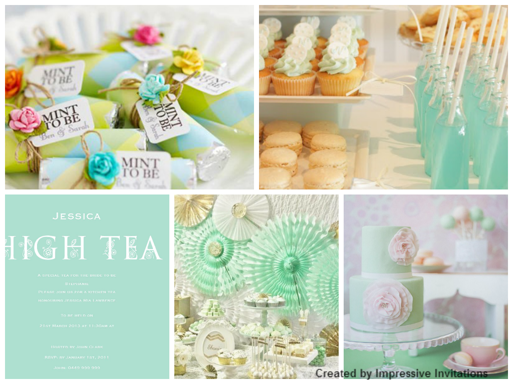 Impressive Invitations High Tea Party Inspiration Board Bride Shower Events