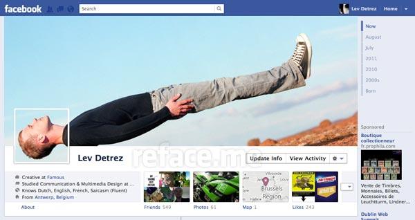 Cover Timeline Facebook
