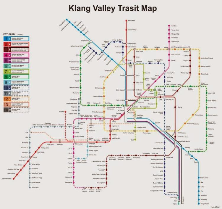 Kuala Lumpur Subway Map Pdf.Klang Valley Integrated Transit Maps Skyscrapercity