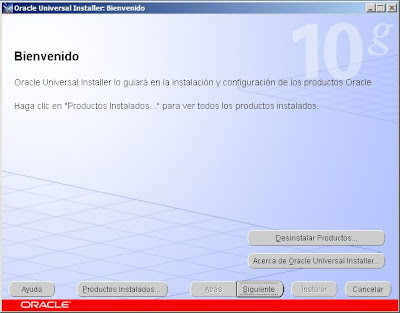 Instalar parche 10.2.0.5.0 de Oracle Database en Windows Server 2008 R2