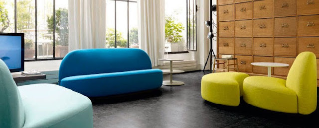 le c l bre canap elys e de ligne roset. Black Bedroom Furniture Sets. Home Design Ideas
