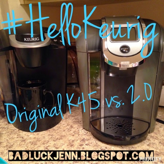 when influenster asked me to be part of the hellokeurig campaign and sent me the new keurig 20 i was beyond excited - Keurig Elite K45