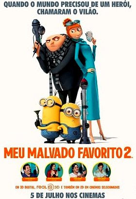 Filme Poster Meu Malvado Favorito 2 R5 XviD Dual Audio & RMVB Dublado