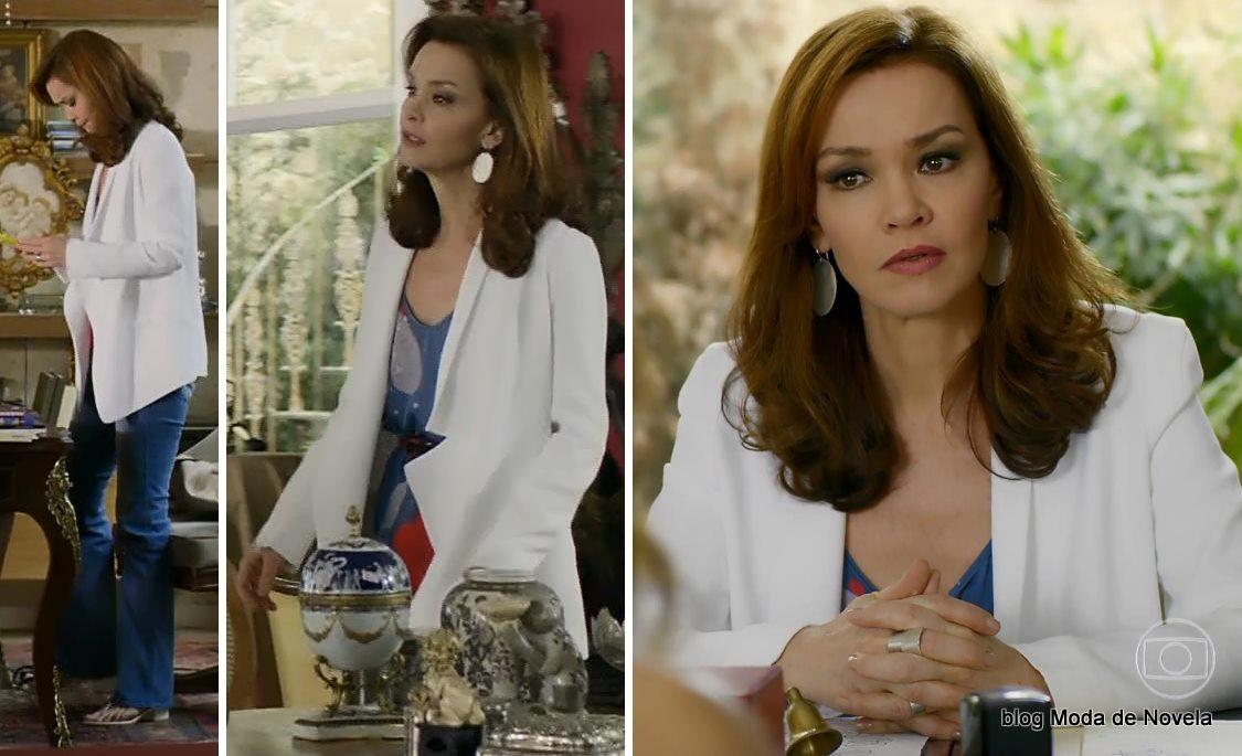 moda da novela Em Família - look da Helena dia 22 de maio