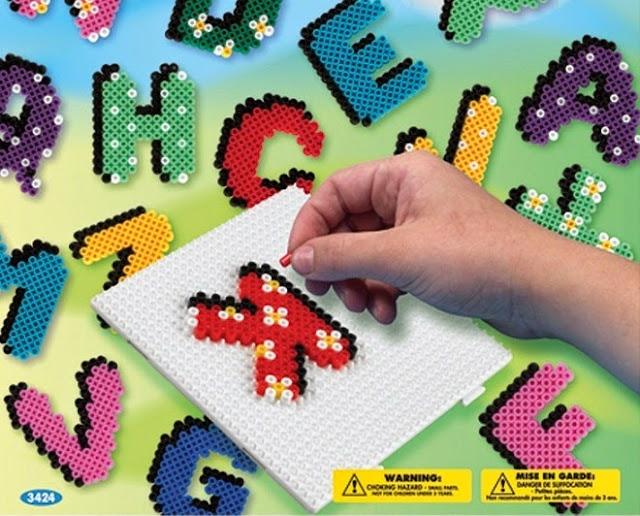 Đồ chơi xếp hình Chữ cái ABC Letters Bead Set thật bổ ích và lý thú