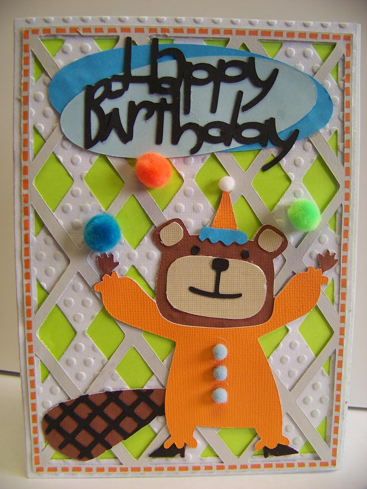 a virtual house of cards happy birthday beaver card