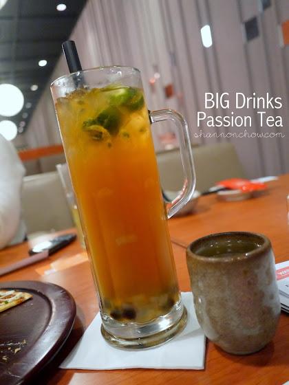 big drink passion tea