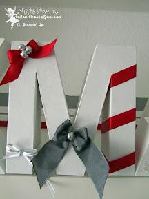 stampin up weihnachten christmas xmas ribbons bells glöckchen