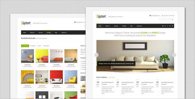 BigStart - Clean and Flexible WordPress Theme