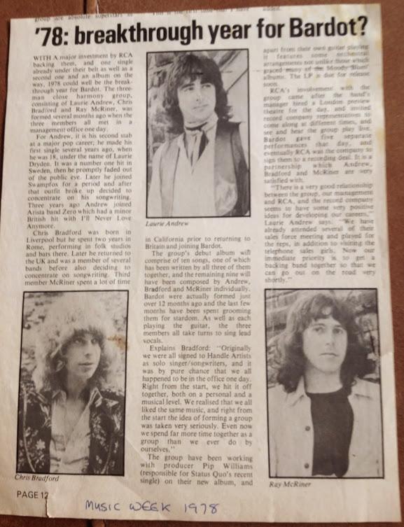 Music Week 1978