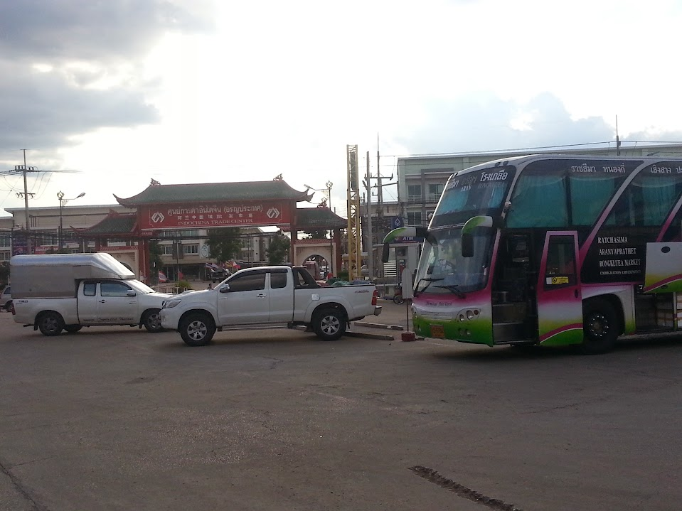 Bus station Rongluea Market - Aranyaprathet district