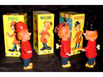 Los juguetes de los Payasos de la Tele