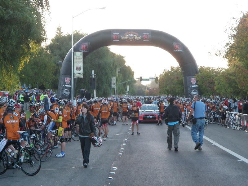 Levi's Gran Fondo • Start in Santa Rosa