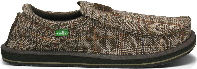 *SANUK蘇格蘭格紋:KYOTO DEAN寬版懶人鞋推出Glen Check版本 4