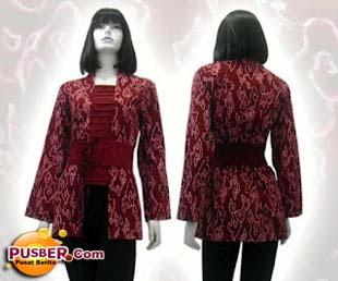 batik batik menarik lainnya model baju batik wanita modern terbaru