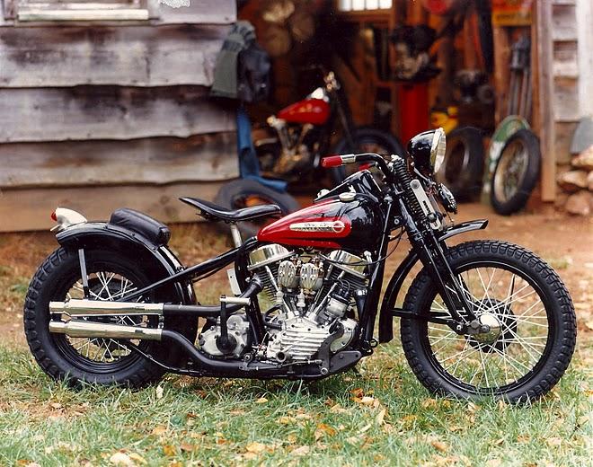 Bobber Cafe Racer Harley Davidson Hd Wallpaper 1080p: Cafe Racer Special: Harley Davidson 1948 PANHEAD Bobber