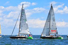 J/111 Wicked 2.0 and J/124 Wicked- sailing at Buzzards Bay Regatta
