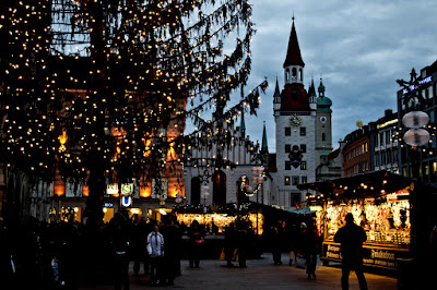 Christmas lights in Munich