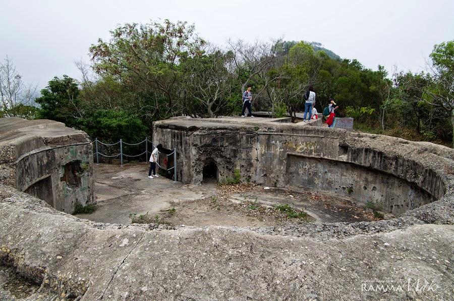 另一個角度的大砲台