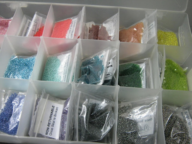Assorted 15/o Japanese Seed Beads