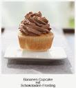 Bananen-Cupcake-mit-Schokoladen-Frosting