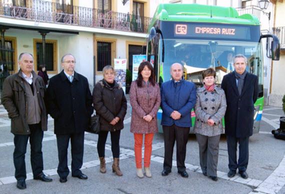 La línea 352 estrena 3 nuevos autobuses interurbanos GNC