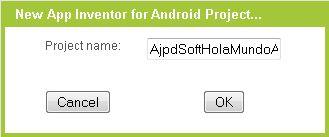 Interfaz de Google App Inventor, opciones más importantes, entorno de desarrollo Android
