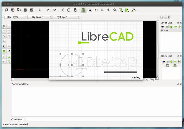 LibreCAD para Ubuntu