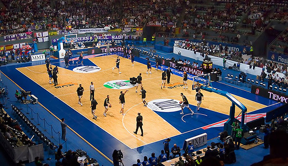 Madrid será la sede de la Final Four de Baloncesto 2015