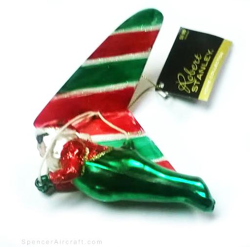 Hang Gliding Santa