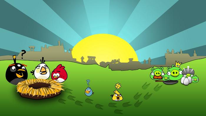 Hình nền về những chú chim điên trong Angry Birds - Ảnh 10