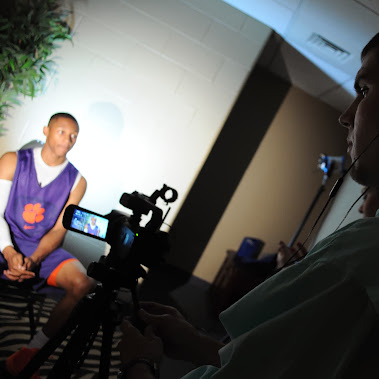 GC340 shoot Clemson basketball promotional videos
