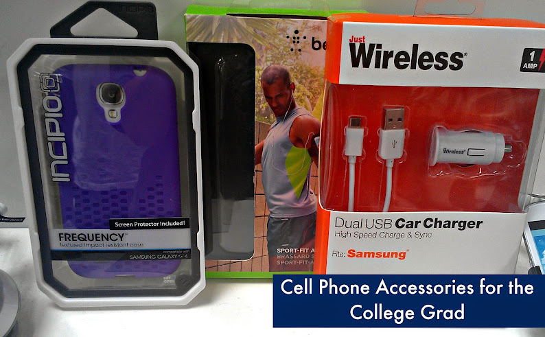 College Graduation Gift Ideas: Cell Phone Accessories #FamilyMobile #shop