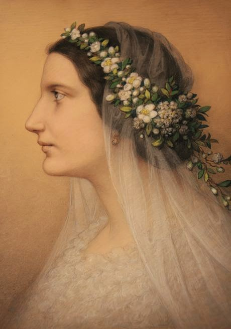 Marie Ellenrieder - Bridal Portrait of Friederike Martignoni