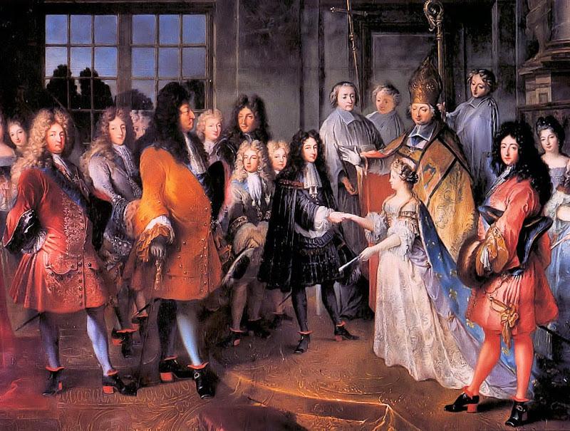 Antoine Dieu - Mariage du Duc de Bourgogne, Louis de France (1682-1712)
