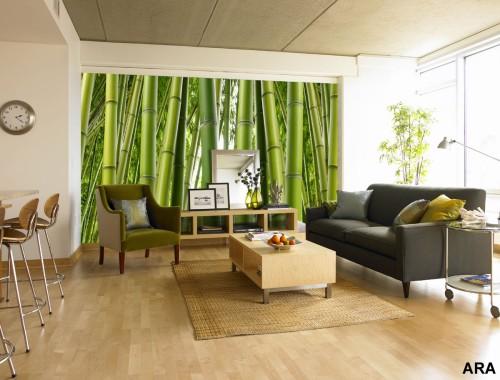 botanik desenleri ile bu evin perdeleri örnek alınabilecek bir resim ile sizlerle