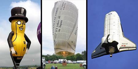 Необычные воздушные шары. 16 фото