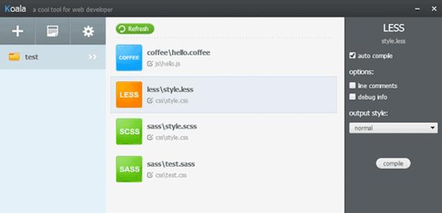Koala, una buena herramienta para desarrolladores