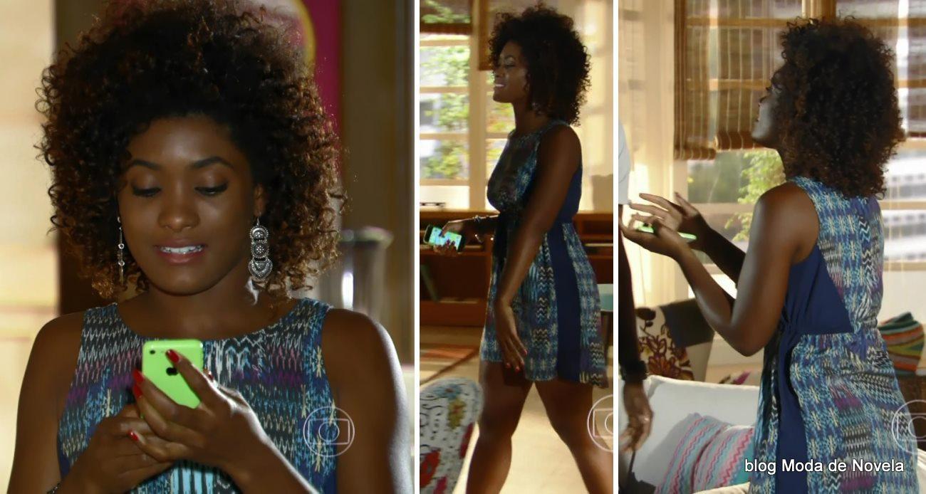 moda da novela Em Família - look da Alice dia 20 de maio