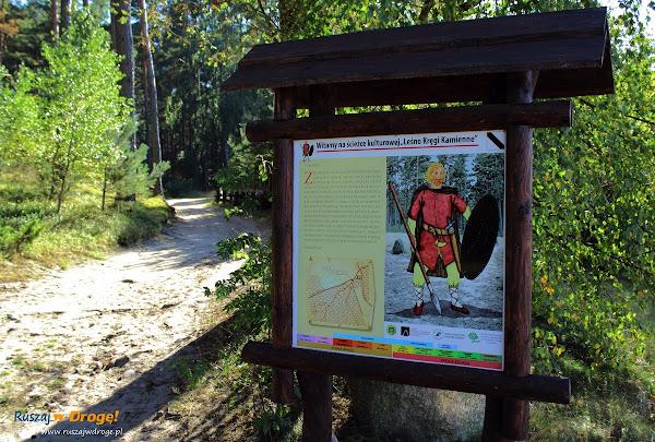 Kamienne Kręgi - ścieżka edukacyjna w Leśnie