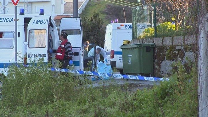 Vídeo - Mata mulher e suicida-se - Lamego - CMTV