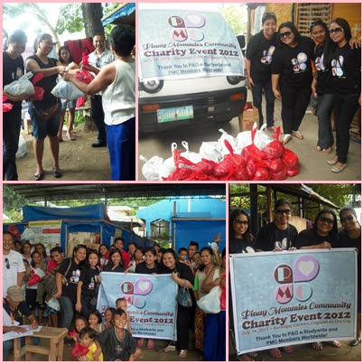 PMC, PMC Charity Event, P&G e.studyante, mum's for a cause