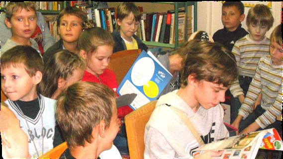 Юные читатели в ЦБС Костромы