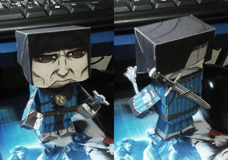 The Witcher 2 Roche Papercraft