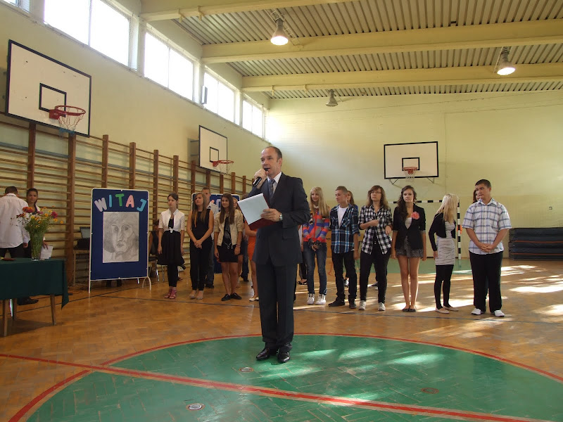 Uroczyste rozpoczecie roku szkolnego 2011/2012